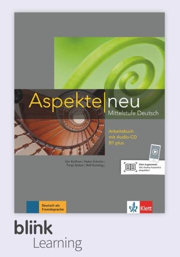 Cover Aspekte neu B1+ - Digitale Ausgabe mit LMS NP00860501796 Deutsch als Fremdsprache (DaF)