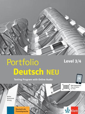 Cover Portfolio Deutsch NEU Level 3/4 978-3-12-605331-0 Deutsch als Fremdsprache (DaF)