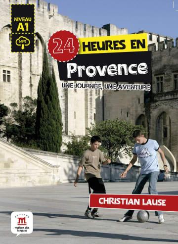 Cover 24 heures en Provence 978-3-12-529499-8 Französisch