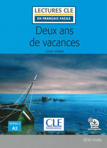 Cover Deux ans de vacances 978-3-12-593206-7 Jules Verne Französisch