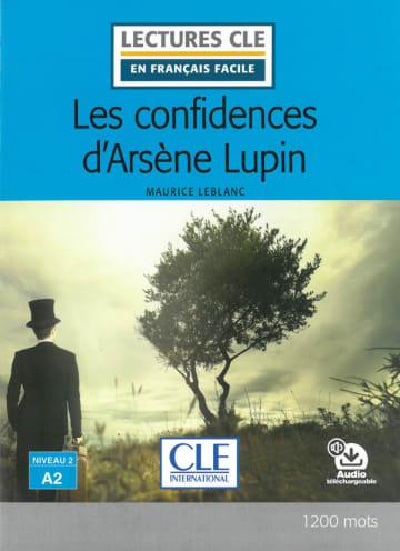 Cover Les confidences d'Arsène Lupin 978-3-12-593205-0 Maurice Leblanc Französisch