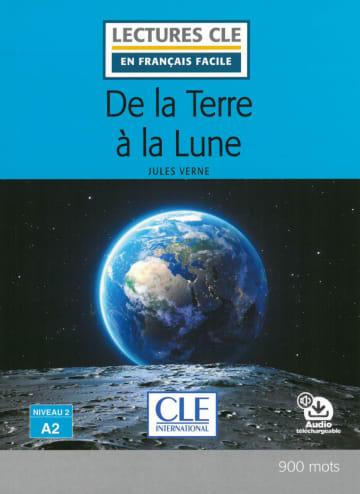 Cover De la terre à la lune 978-3-12-593203-6 Jules Verne Französisch