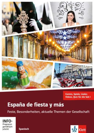 Cover España de fiesta y más 978-3-12-526825-8 Spanisch