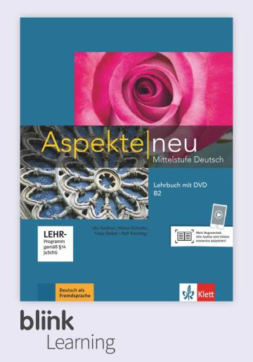 Cover Aspekte neu B2 - Digitale Ausgabe mit LMS NP00860502402 Deutsch als Fremdsprache (DaF)