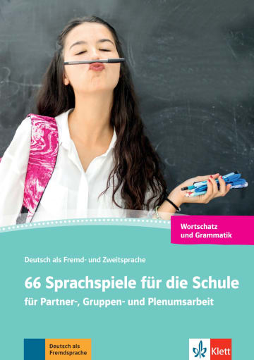 Cover 66 Sprachspiele für die Schule 978-3-12-674156-9 Deutsch als Fremdsprache (DaF),Deutsch als Zweitsprache (DaZ)