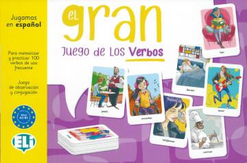 Cover El gran juego de los verbos 978-3-12-535168-4 Spanisch