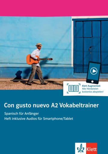 Cover Con gusto nuevo A2 Vokabeltrainer 978-3-12-514681-5 Spanisch