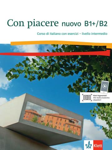 Cover Con piacere nuovo B1+/B2 978-3-12-525219-6 Italienisch