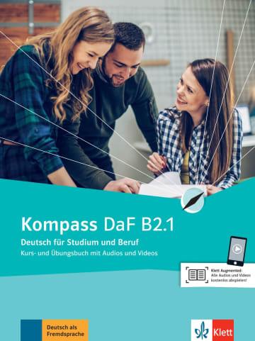 Cover Kompass DaF B2.1 978-3-12-670001-6 Deutsch als Fremdsprache (DaF)