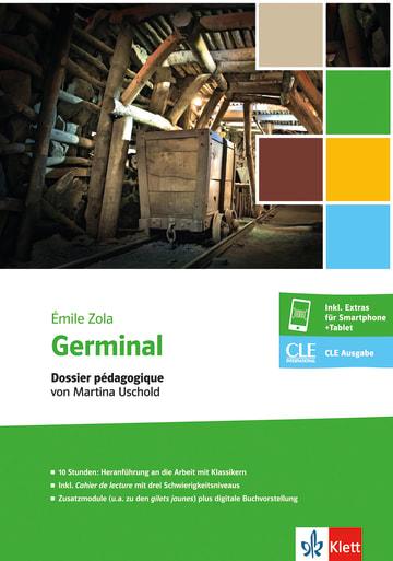 Cover Germinal 978-3-12-597490-6 Martina Uschold, Émile Zola Französisch