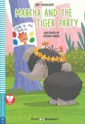 Cover Martha and the Tiger Party 978-3-12-515254-0 Englisch