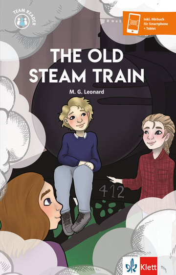 Cover The Old Steam Train 978-3-12-530903-6 Englisch