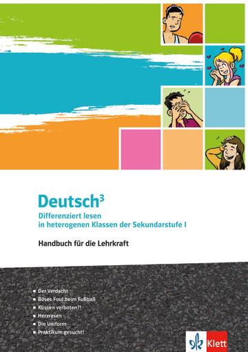 Cover Deutsch³ 978-3-12-675127-8 Deutsch als Zweitsprache (DaZ)