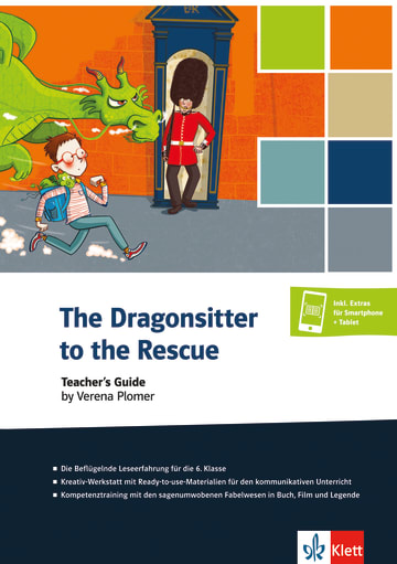 Cover The Dragonsitter to the Rescue 978-3-12-578128-3 Englisch