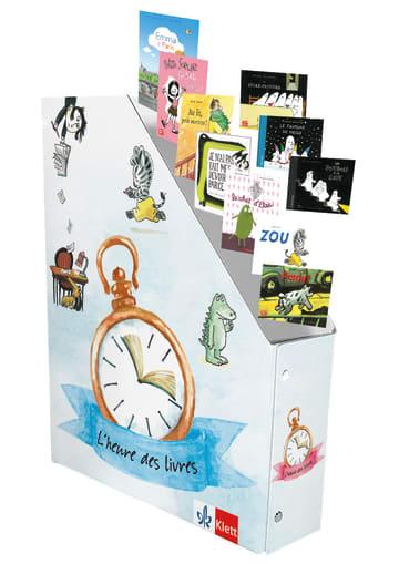 Cover L'heure des livres - coffret d'albums 978-3-12-590000-4 Französisch