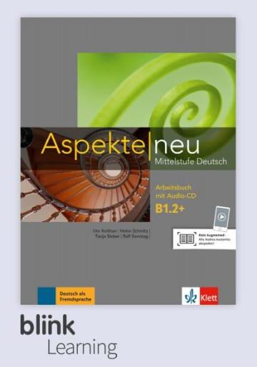 Cover Aspekte neu B1.2+ - Digitale Ausgabe mit LMS NP00860501708 Deutsch als Fremdsprache (DaF)