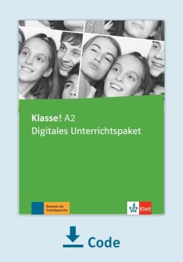 Cover Klasse! A2 - Digitales Unterrichtspaket NP00860714001 Deutsch als Fremdsprache (DaF),Deutsch als Zweitsprache (DaZ)