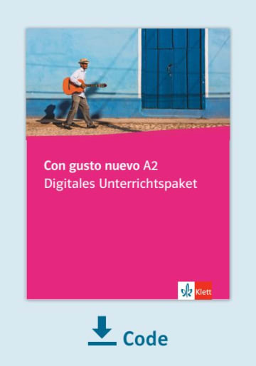 Cover Con gusto nuevo A2 - Digitales Unterrichtspaket NP00851468201 Spanisch