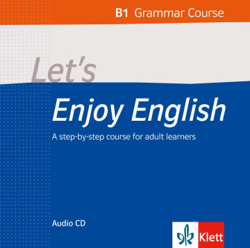 Cover Let's Enjoy English B1 Grammar 978-3-12-501664-4 Englisch