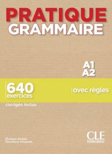 Cover Pratique Grammaire 978-3-12-525999-7 Französisch