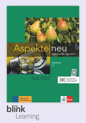 Cover Aspekte neu C1 - Digitale Ausgabe mit LMS NP00860503402 Deutsch als Fremdsprache (DaF)