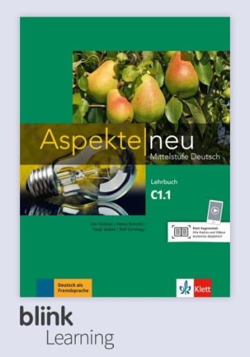 Cover Aspekte neu C1.1 - Digitale Ausgabe mit LMS NP00860503502 Deutsch als Fremdsprache (DaF)