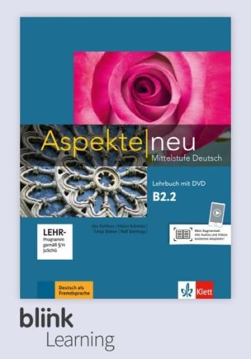Cover Aspekte neu B2.2 - Digitale Ausgabe mit LMS NP00860502503 Deutsch als Fremdsprache (DaF)