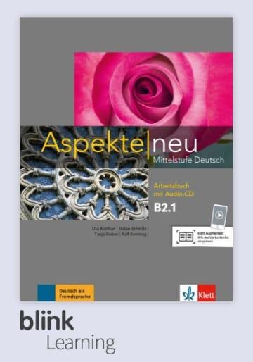 Cover Aspekte neu B2.1 - Digitale Ausgabe mit LMS NP00860502603 Deutsch als Fremdsprache (DaF)