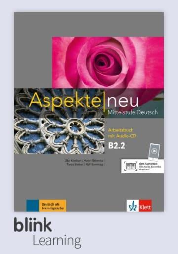 Cover Aspekte neu B2.2 - Digitale Ausgabe mit LMS NP00860502604 Deutsch als Fremdsprache (DaF)