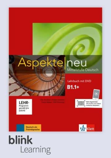 Cover Aspekte neu B1.1+ - Digitale Ausgabe mit LMS NP00860501591 Deutsch als Fremdsprache (DaF)