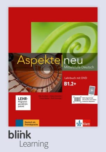 Cover Aspekte neu B1.2+ - Digitale Ausgabe mit LMS NP00860501502 Deutsch als Fremdsprache (DaF)