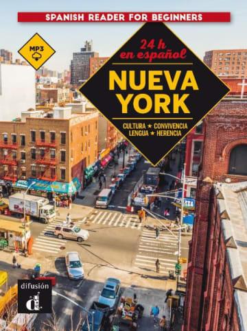 Cover 24 horas en español. Nueva York 978-3-12-562321-7 Spanisch