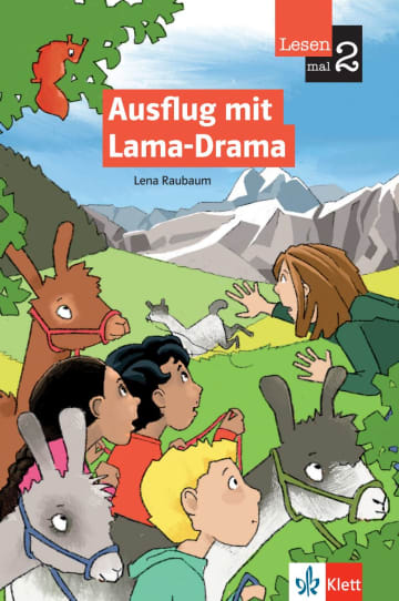 Cover Ausflug mit Lama-Drama 978-3-12-674030-2 Lena Raubaum Deutsch