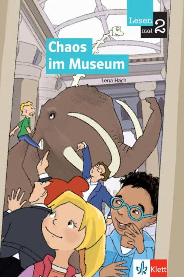 Cover Chaos im Museum 978-3-12-674032-6 Lena Hach Deutsch