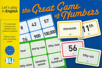 Cover The Great Game of Numbers 978-3-12-515266-3 Englisch