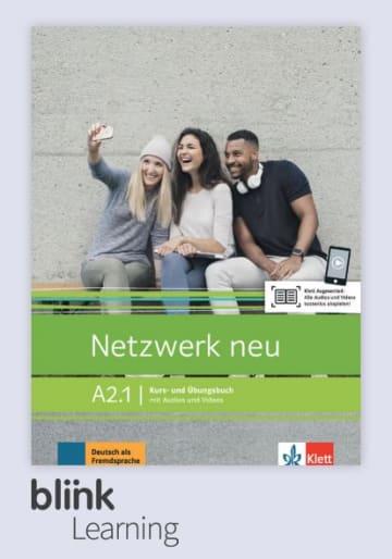 Cover Netzwerk neu A2.1 - Digitale Ausgabe mit LMS NP00860716201 Deutsch als Fremdsprache (DaF)