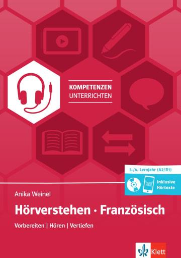 Cover Hörverstehen Französisch A2/B1 978-3-12-525644-6 Französisch