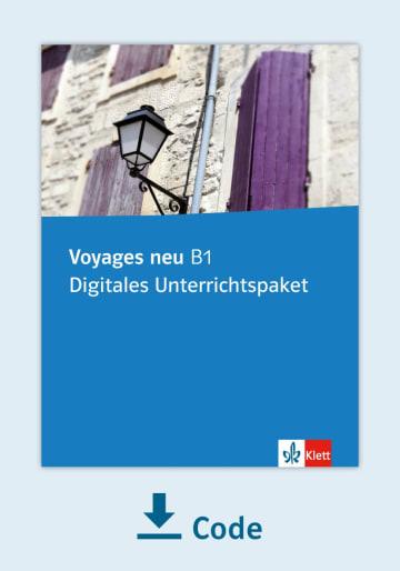 Cover Voyages neu B1 - Digitales Unterrichtspaket NP00852943401 Französisch