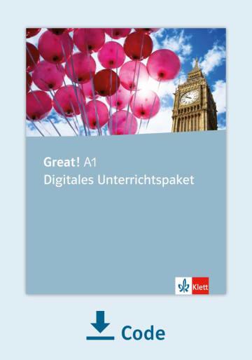 Cover Great! A1 - Digitales Unterrichtspaket NP00850149201 Englisch