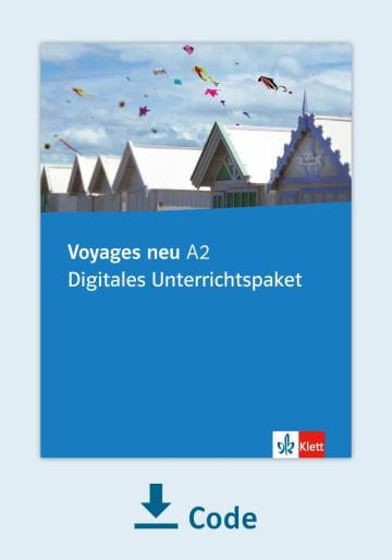 Cover Voyages neu A2 - Digitales Unterrichtspaket NP00852942701 Französisch