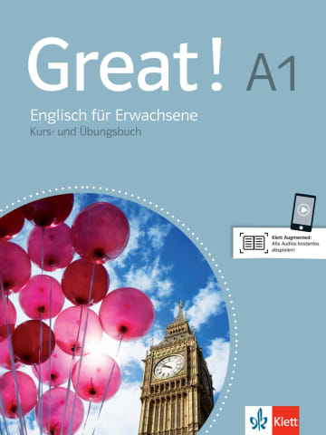 Cover Great! A1 978-3-12-501480-0 Englisch