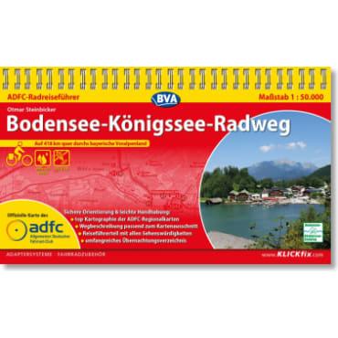 Bodensee-Königssee-Radweg ADFC-Radreiseführer