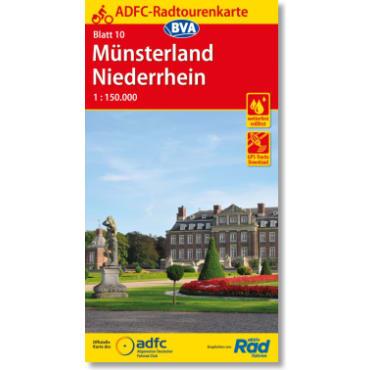 Blatt 10 Münsterland/Niederrhein