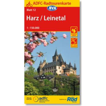 Blatt 12 Harz/Leinetal