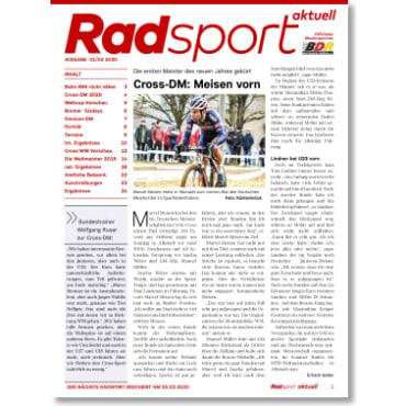 Radsport 1-2/2020
