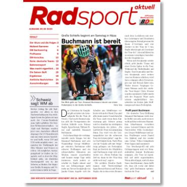 Radsport 29-30/2020