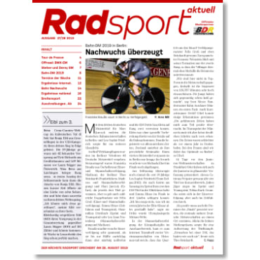 Radsport 27-28/2019