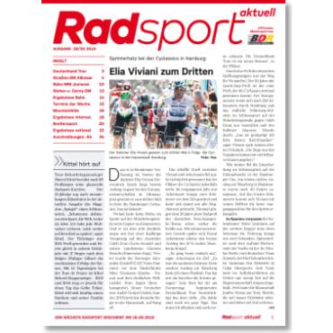 Radsport 29-30/2019