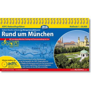 Rund um München/Biergartenradeltouren ADFC-Radausflugsführer