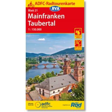 Blatt 21 Mainfranken/Taubertal